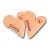 60-554 หวีหมออ้อย สีส้ม หวีหมีน้อยสำหรับผู้หญิง Malian Hair Cutter #Coral สีปะการังอมส้ม (Coral) แค่หวีลงไปก็ลดความรกรุงรัง ไม่เจ็บ ไม่ต้องกลัวบาด ดีไซน์เก๋ช่วยให้จับถนัดมือ