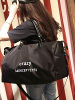 กระเป๋าเดินทางขนาดใหญ่ แต่งตัวอักษร มี2สี