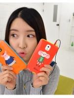 เคสซัมซุงโน๊ต3 เคสลาย 8thdays การ์ตูนสัตว์แต่งชุดแฟชั่นใช้สีสวยสไตล์เกาหลี Samsung Note3 Case