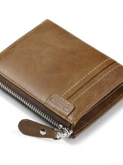 กระเป๋าตังค์เกาหลี แต่งซิบเปิดปิด มีช่องเก็บเหรียญ+ช่องเก็บบัตร มี3สี