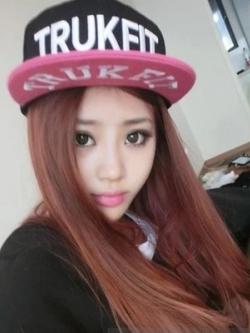 Pre Order หมวก Hip Hop แฟชั่นเกาหลี ลาย TRUKFIT สีตามรูป