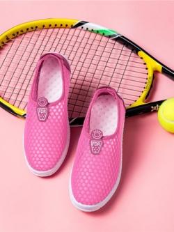 รองเท้าผ้าใบเกาหลี แนวSport ระบายอากาศ มี2สี