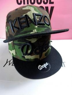 Pre Order หมวกแฟชั่น KANZO ลายพราง สามารถปรับขนาดได้ สีตารูป