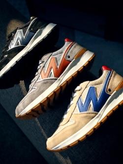 รองเท้าผ้าใบเกาหลี แต่งรูปWด้านข้าง แนวแฟชั่น มี3สี