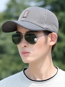 หมวกแก็ปเกาหลี แนวตาข่ายระบายอากาศ มี3สี