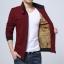 Pre Order เสื้อแจ็คเก็ตกันหนาว แขนยาวคอตั้ง บวกกำมะหยี่ด้านใน มี5สี thumbnail 4