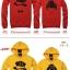 Pre Order เสื้อกันหนาวคู่รักแฟชั่นเกาหลี แขนยาว มีฮู้ด พิมพ์ลายการ์ตูน สีเทา thumbnail 3