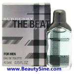 Burberry The Beat EDT for men 4.5ml น้ำหอมเพิ่มสเน่ห์สำหรับท่านชาย ให้กลิ่นหอมแนววู้ดดี้ นำสมัย และหรูหราในคราวเดียว