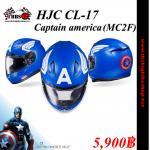 หมวกกันน๊อค HJC CL-17 Marvel Captain america (MC2F)
