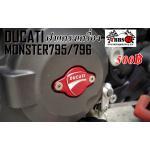 ฝาปิดแครงเครื่อง Ducati monster 795/796/696