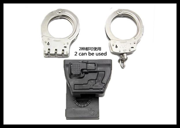 ซองกุญแจมือไฟเบอร์ ใส่ได้ทั้ง 2 แบบ
