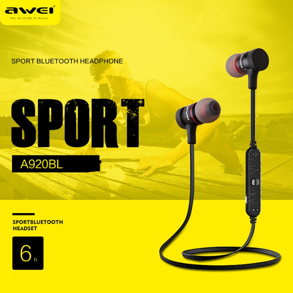 AWEI 920BL Stereo Sport Bluetooth