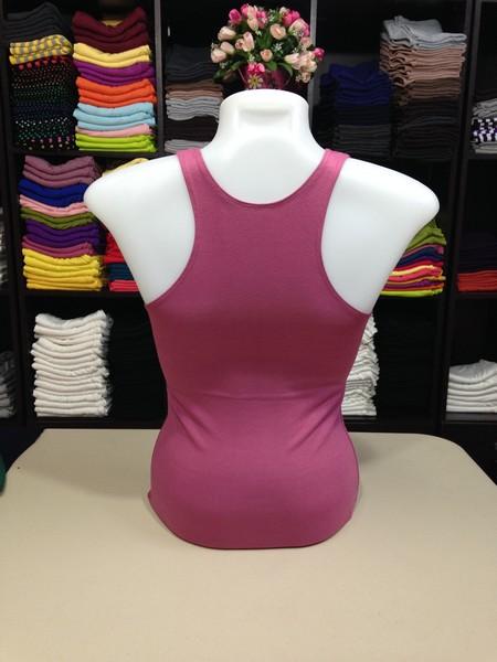 เสื้อกล้ามหลังสปอร์ต สีเลิอดหมูปูน