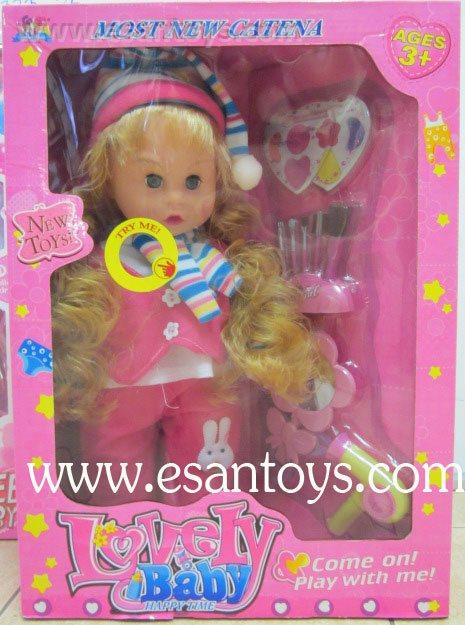 ตุ๊กตา+อุปกรณ์เสริมสวย