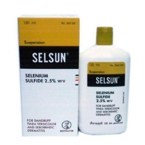 Selsun 60 ml (แชมพูกำจัดรังแค)