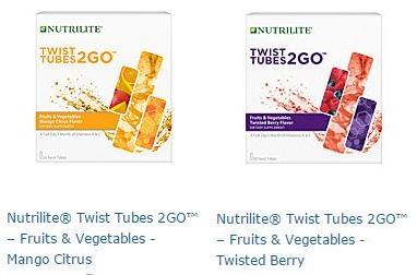 Nutrilite Twist Tubes 2GO Fruits Vegetables (Twist สีม่วง)เครื่องดืมผักและผลไม้เข้มข้น แบบพกพา ช่วยให้ร่างกายสดชื่น ตลอดวัน Amway USA