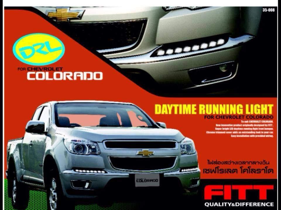 Daylight Running Time LED FITT ตรงรุ่น Chevrolet Colorado All New 2013 FITT