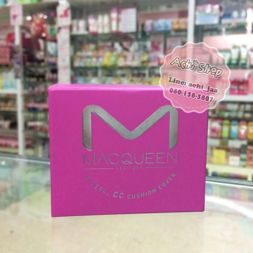 แป้ง MacQueen Mineral CC แป้งน้ำ cc