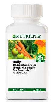 NUTRILIT Daily (180 tab) วิตามินรวม ในแต่ละวัน เหมาะกับทุกเพศ ทุกวัย Amway USA