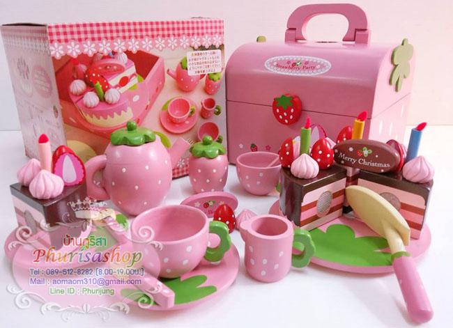 ชุดปาร์ตี้น้ำชาเเละเค้ก ( MOTHER GARDEN)