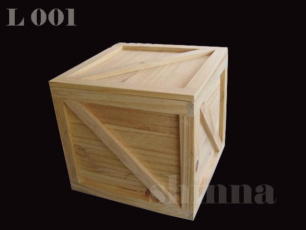 กล่องไม้แท้เก็บแผ่นเสียง 34x34