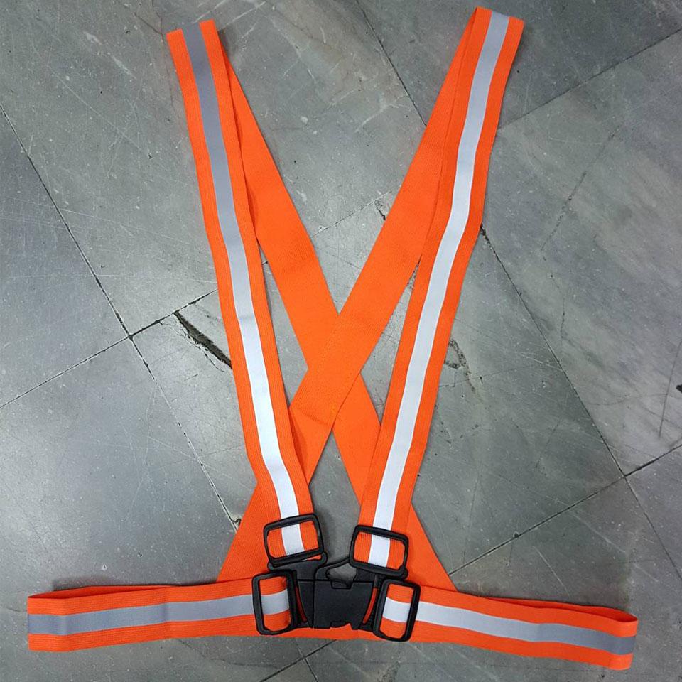 สายเสื้อสะท้อนแสง (2 สี - ส้ม เหลือง)