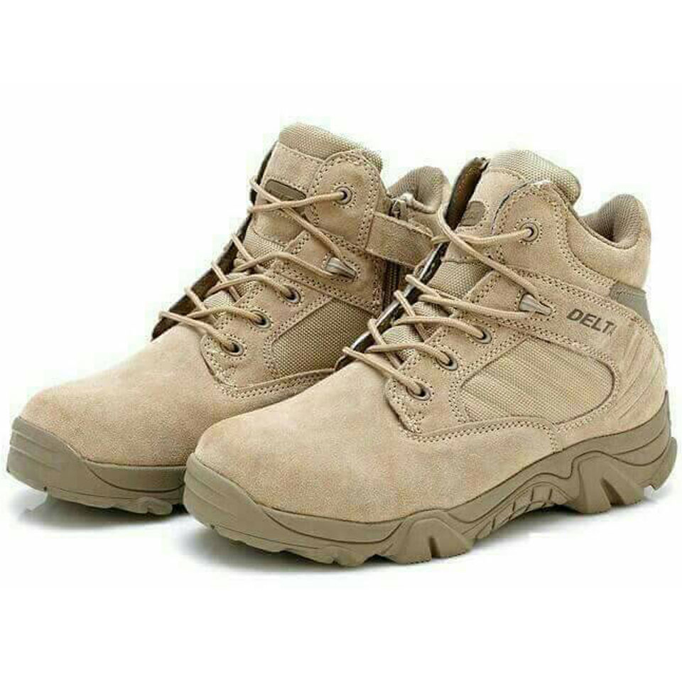 รองเท้า Delta ข้อสั้น (ดำ ทราย)