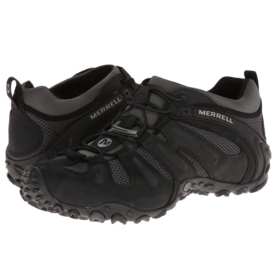รองเท้า Merrell พื้น Vibram ดำ