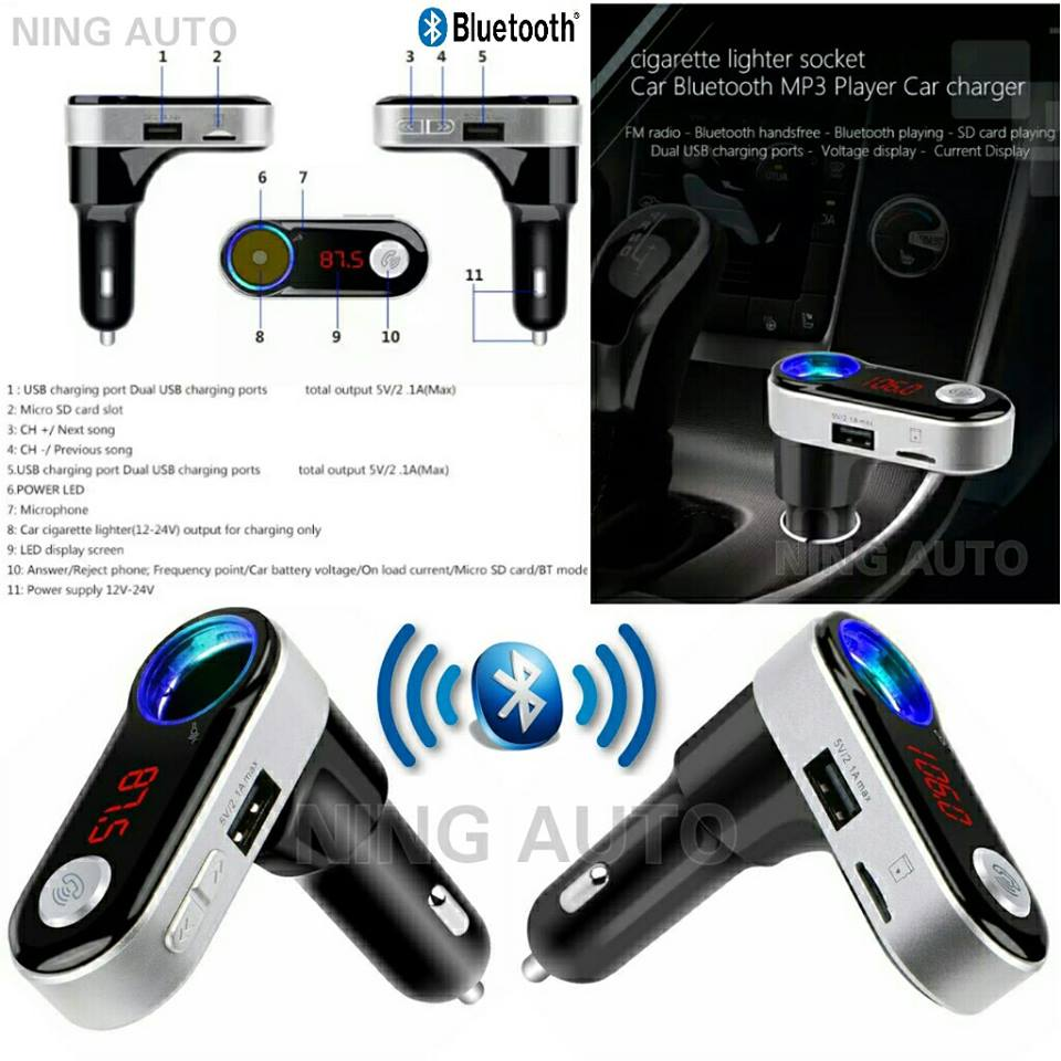 Bluetooth Car Chager Audio