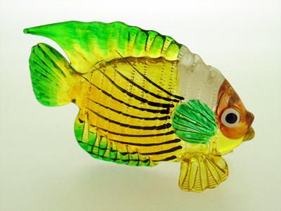 ปลาแก้วเป่า Glass Figurine Fish