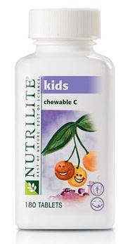 Nutrilite Kids Chewable C วิตามินซีสำหรับเด็ก เพื่อให้เด็กๆของคุณไม่เป็นหวัดง่าย มีภูมิต้านทานมาก