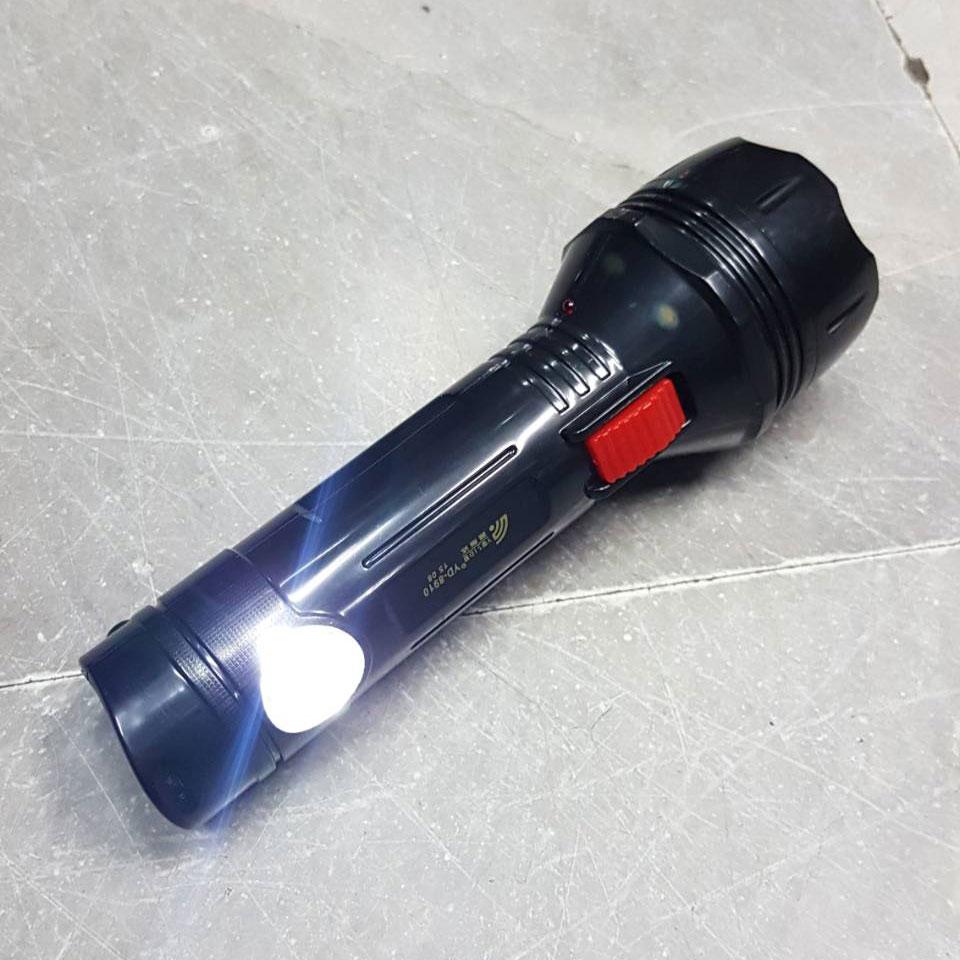 ไฟฉาย LED ไฟสีขาว ชาร์ตไฟบ้านได้