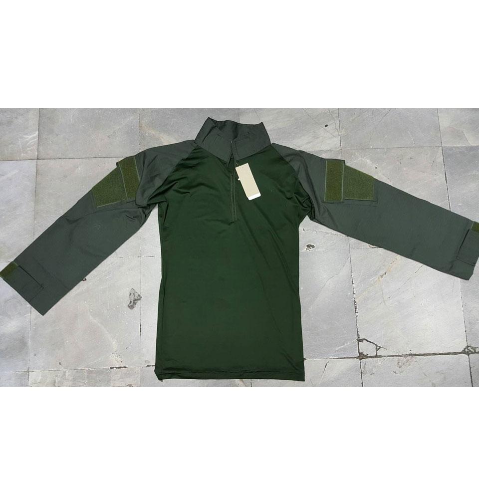 เสื้อ Combat Shirt เขียว-เขียว