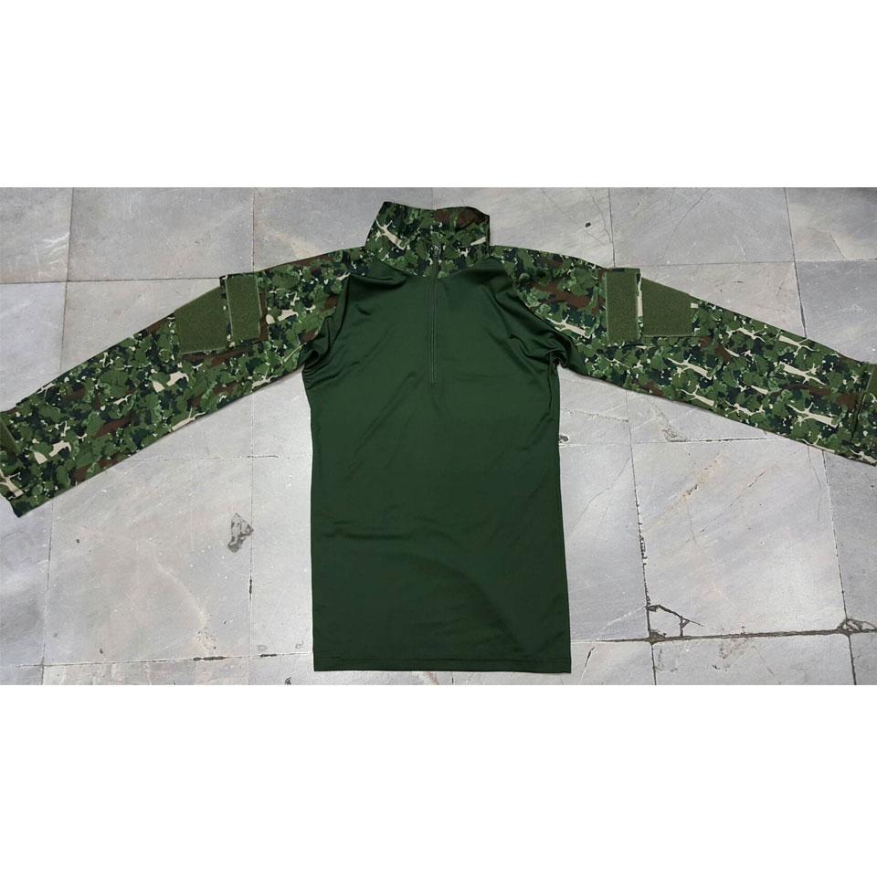 เสื้อ Combat Shirt พรางป่าไม้ (ใหม่)