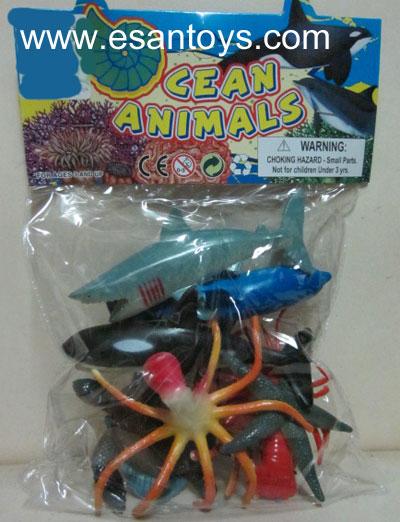 สัตว์ทะเล9ตัว