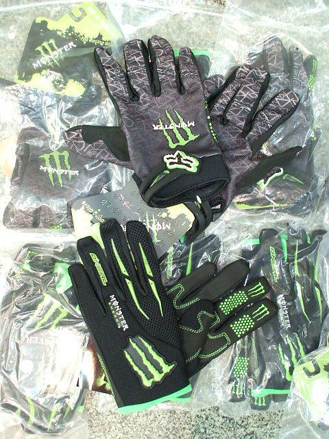 ถุงมือผ้า Monster สำหรับรถวิบาก