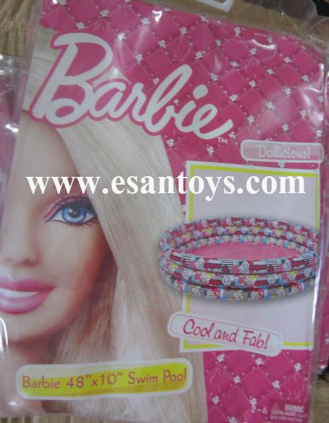 สระน้ำเป่าลม barbie