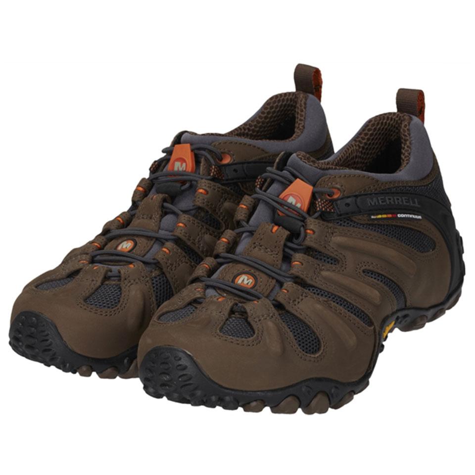 รองเท้า Merrell พื้น Vibram น้ำตาล