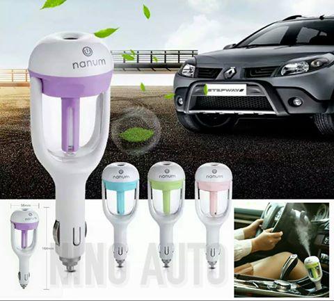 Car Aroma Humidifier เครื่องทำน้ำหอมปรับอากาศในรถยนต์