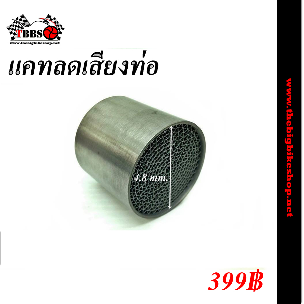 แคทลดเสียงท่อ ขนาด 4.8 ซม.