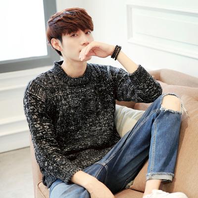 เสื้อสเวตเตอร์เกาหลี แนวเซอร์ แต่งแฉกด้านข้าง มี2สี
