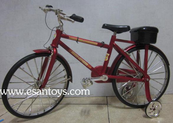 จักรยานโบราณใส่ถ่าน