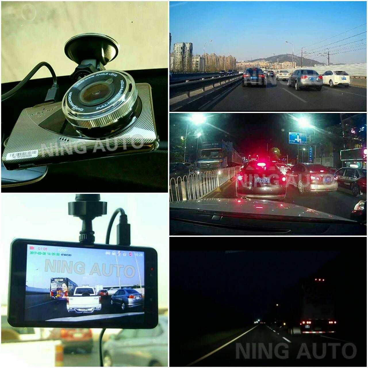 กล้องหน้า - หลัง รถยนต์ NYF28 จอรุ่นใหม่ LED 5 นิ้ว