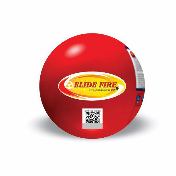 ลูกบอลดับเพลิง (อิไลด์ไฟร์) Elide Fire Extinguishing Ball ลูกเล็ก 415กรัม
