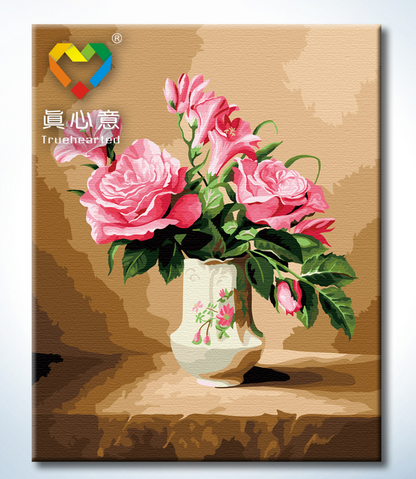 รหัส HB4050106 ภาพระบายสีตามตัวเลข Paint by Number แบบ State of mind ขนาด40x50cm/พร้อมส่ง