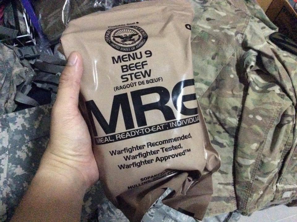 อาหาร MRE (Ready to Eat)