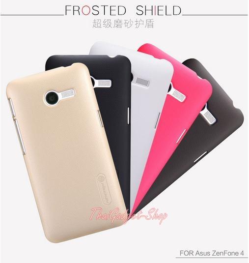 (สีแดง พร้อมส่ง) เคส Asus ZenFone4 NILLKIN Super Frosted Shield Case แถมฟิล์มกันรอย Nillkin แท้ในกล่อง