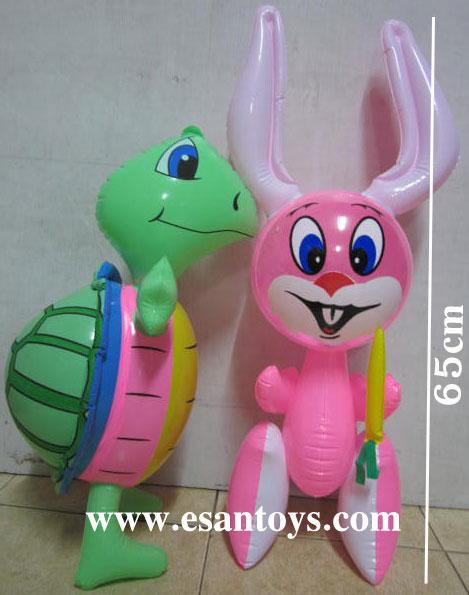 กระต่าย+เต่าเป่าลม