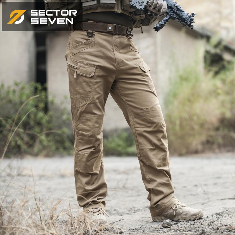 กางเกง Sector Seven IX7 ทราย ผ้าเรียบ กันน้ำ (ของแท้)