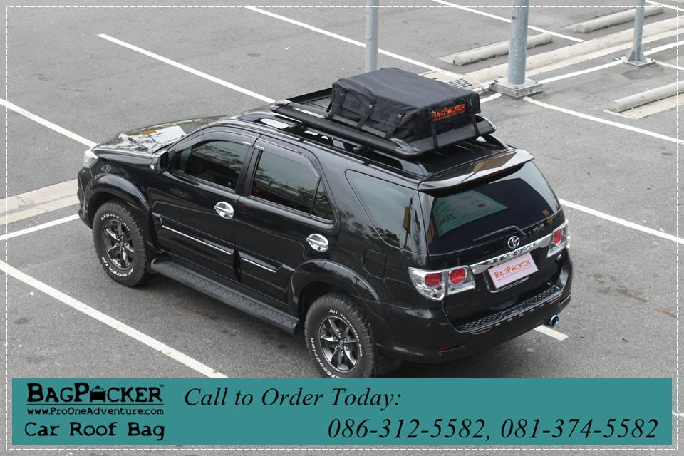 กระเป๋าหลังคารถยนต์, car roof bag, SUV, BagPacker, ตาข่ายคลุมกระบะ